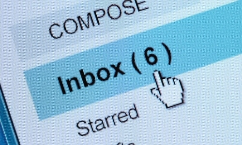 business email account inbox