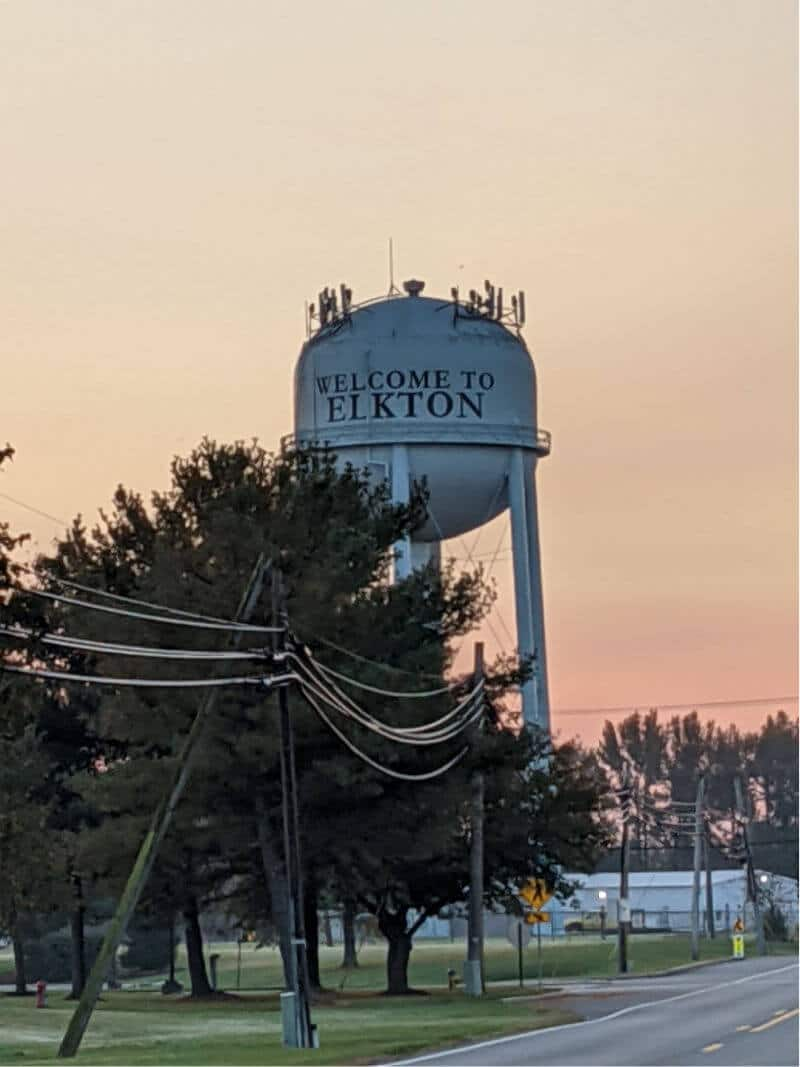 water tower in elkton md