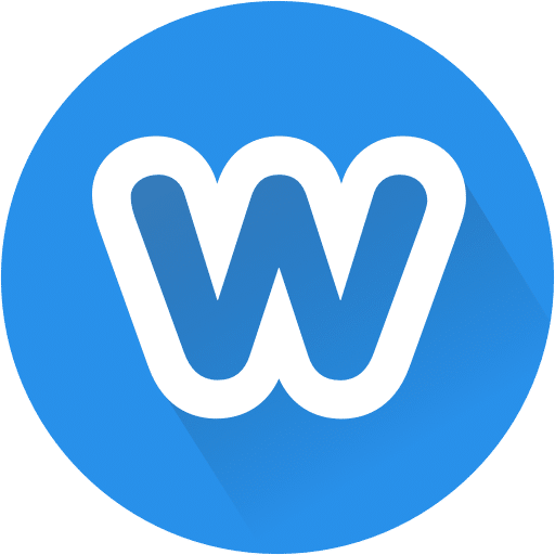 weebly logo blue